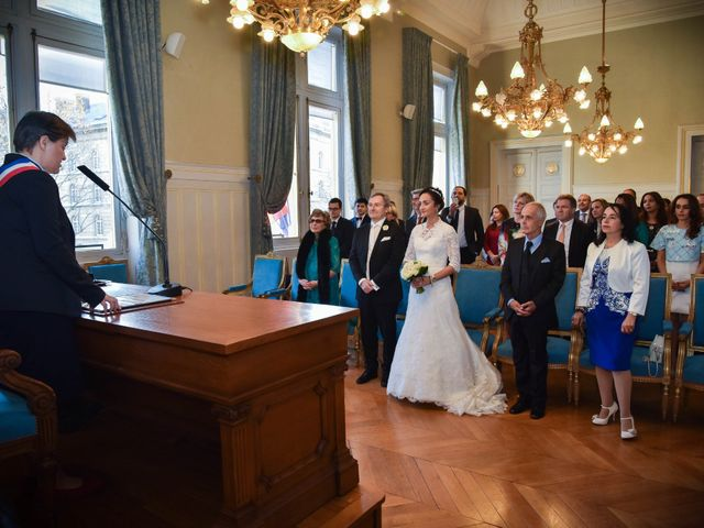 Le mariage de Patrick et Monia à Paris, Paris 19