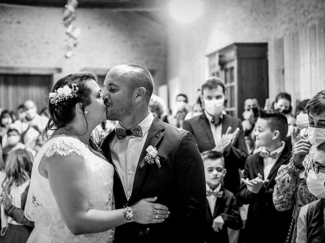 Le mariage de Anthony et Alexandra à Saint-Maurice-la-Clouère, Vienne 93