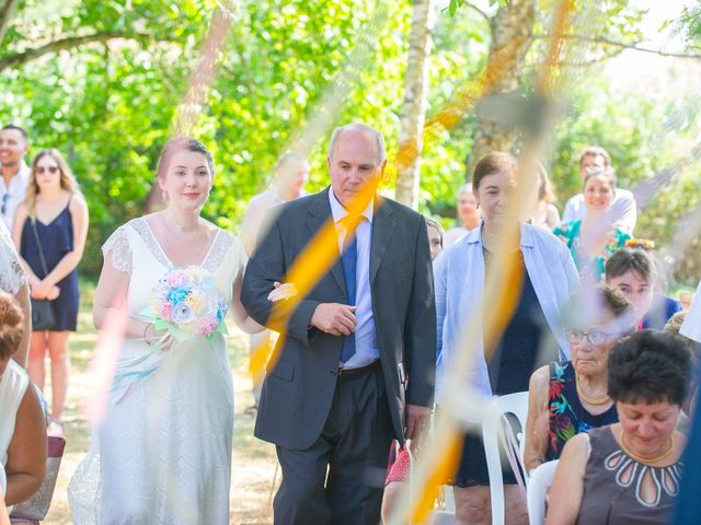 Le mariage de Michaël et Hélène à Polliat, Ain 11