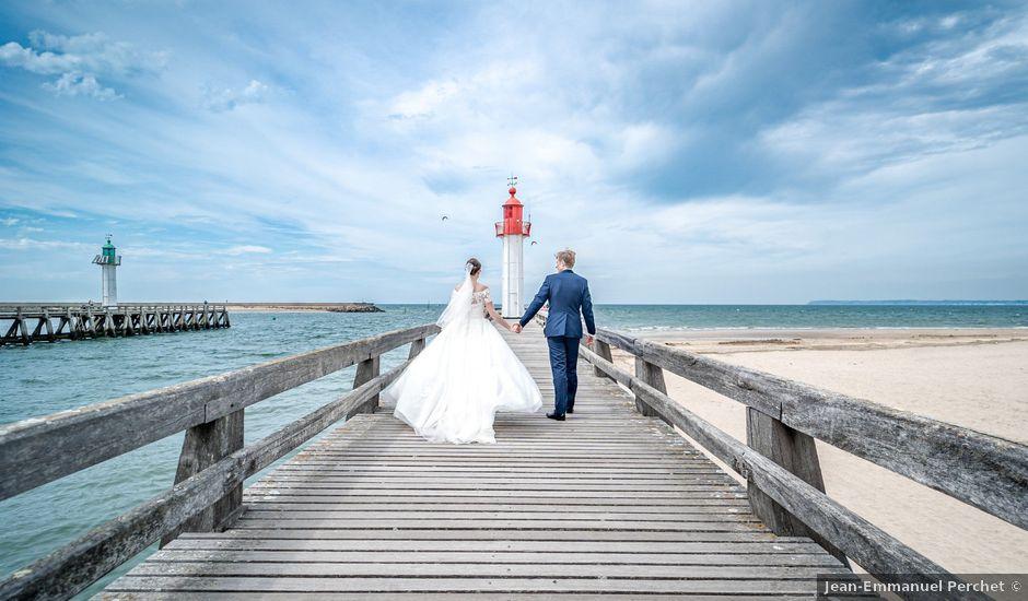 Le mariage de Nicolas et Marie à Trouville-sur-Mer, Calvados