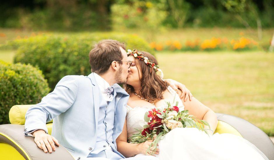 Le mariage de Romain et Mélanie  à Saint-Victor-l'Abbaye, Seine-Maritime