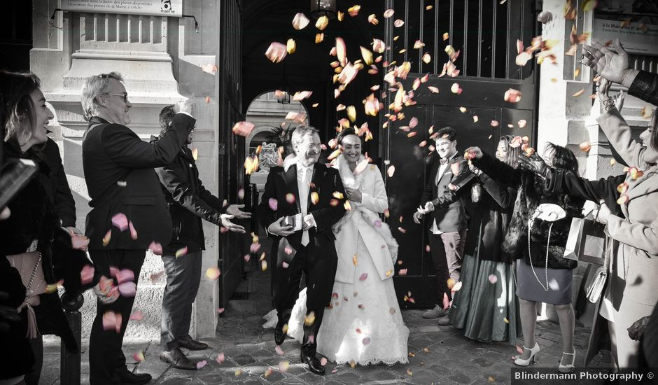 Le mariage de Patrick et Monia à Paris, Paris