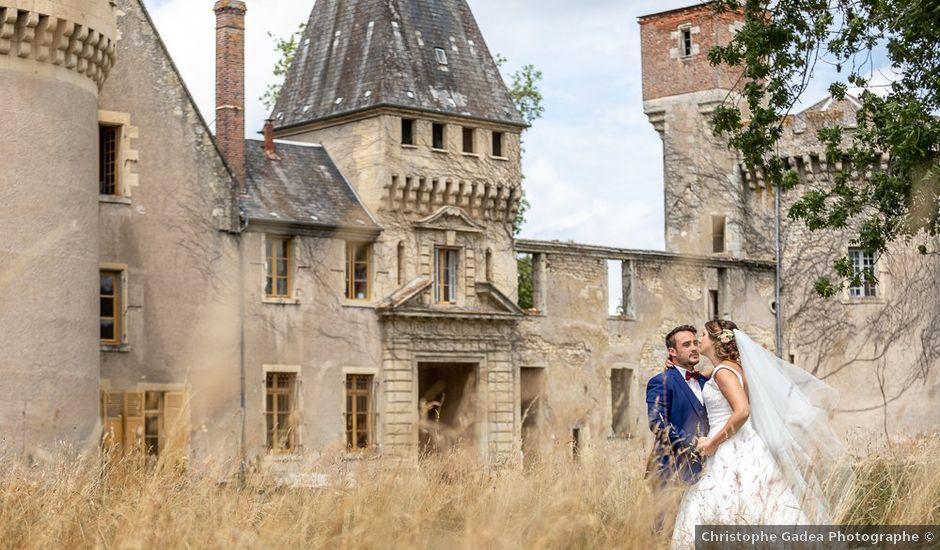 Le mariage de Simon et Laura à Urzy, Nièvre