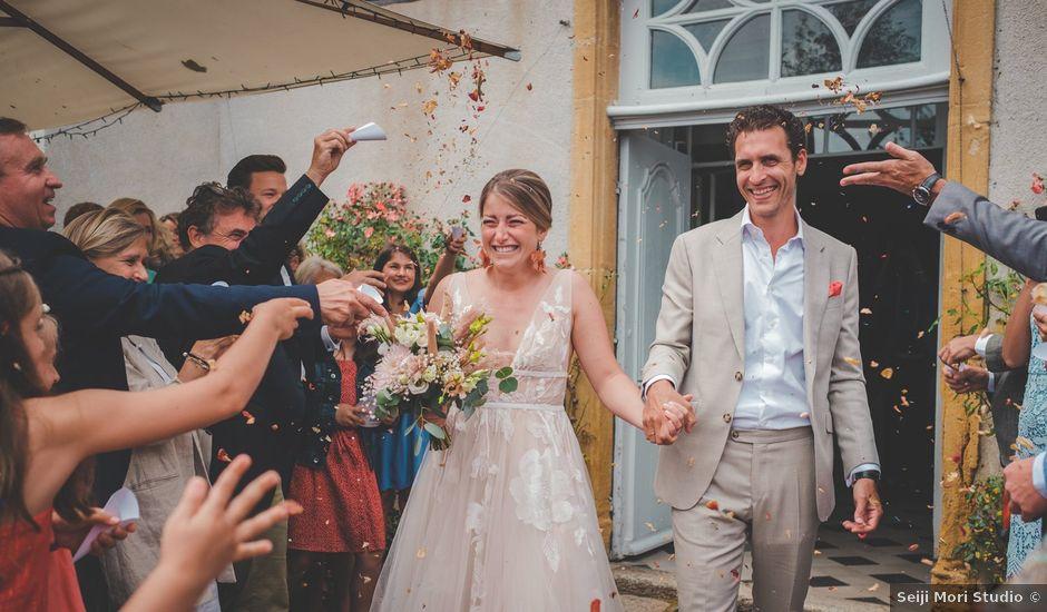 Le mariage de Ned et Laïla à Perreux, Loire