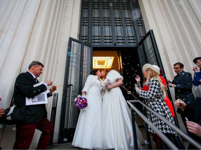 Le mariage de Fidji et Stéphanie à Lyon, Rhône 53