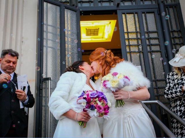 Le mariage de Fidji et Stéphanie à Lyon, Rhône 55