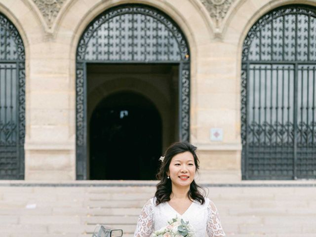 Le mariage de Pascal et Fei à Paris, Paris 19