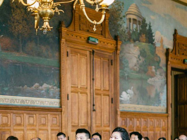 Le mariage de Pascal et Fei à Paris, Paris 22