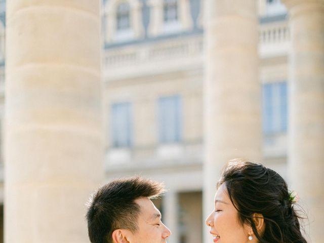 Le mariage de Pascal et Fei à Paris, Paris 33
