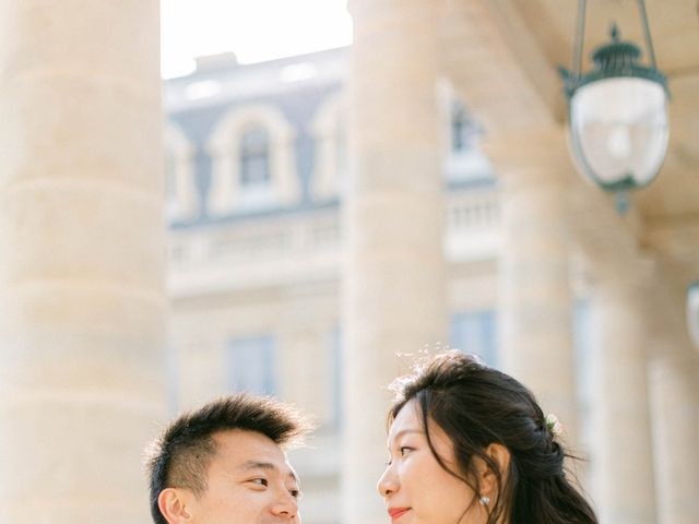 Le mariage de Pascal et Fei à Paris, Paris 35
