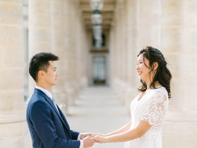 Le mariage de Pascal et Fei à Paris, Paris 40