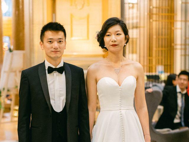 Le mariage de Pascal et Fei à Paris, Paris 54