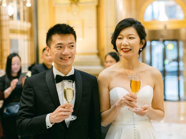 Le mariage de Pascal et Fei à Paris, Paris 56