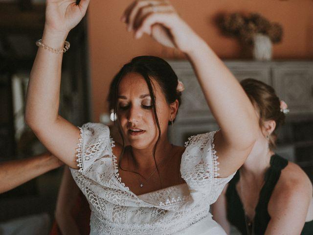 Le mariage de Baptiste et Lauranne à Ennordres, Cher 14