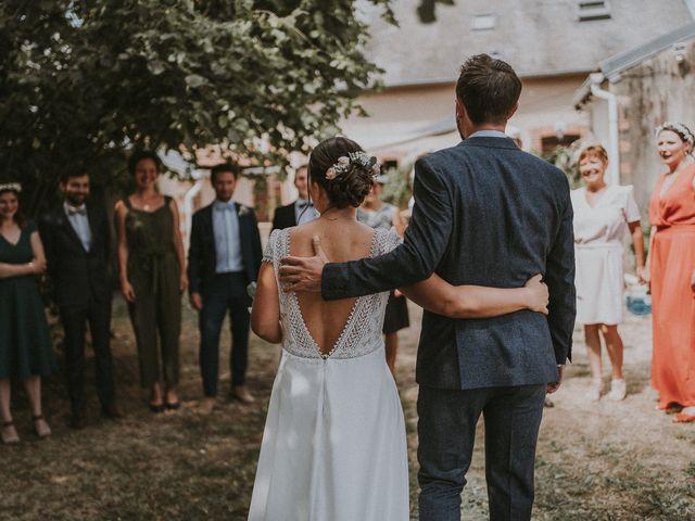 Le mariage de Baptiste et Lauranne à Ennordres, Cher 18