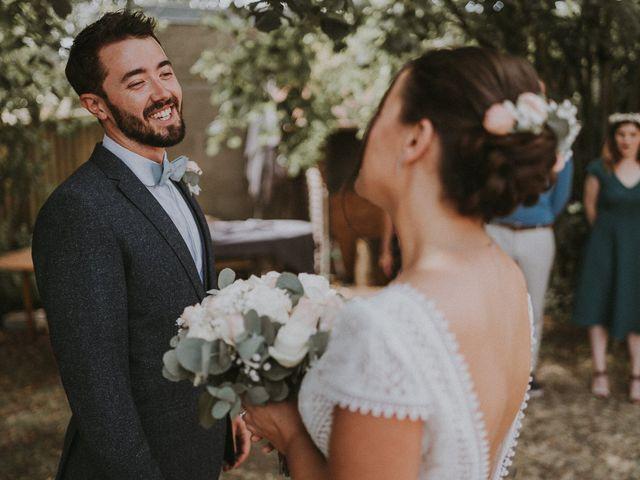 Le mariage de Baptiste et Lauranne à Ennordres, Cher 19
