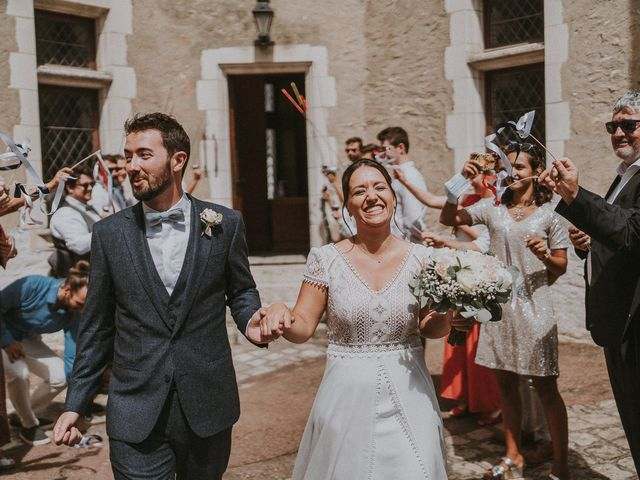 Le mariage de Baptiste et Lauranne à Ennordres, Cher 21