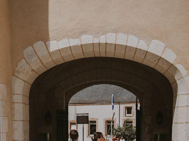 Le mariage de Baptiste et Lauranne à Ennordres, Cher 22
