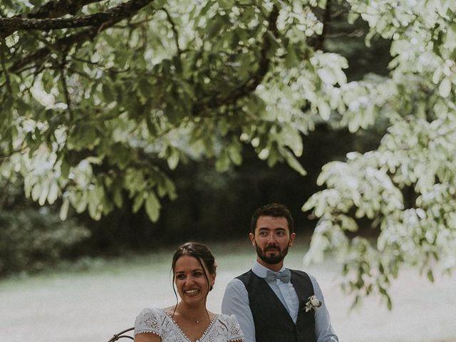 Le mariage de Baptiste et Lauranne à Ennordres, Cher 25