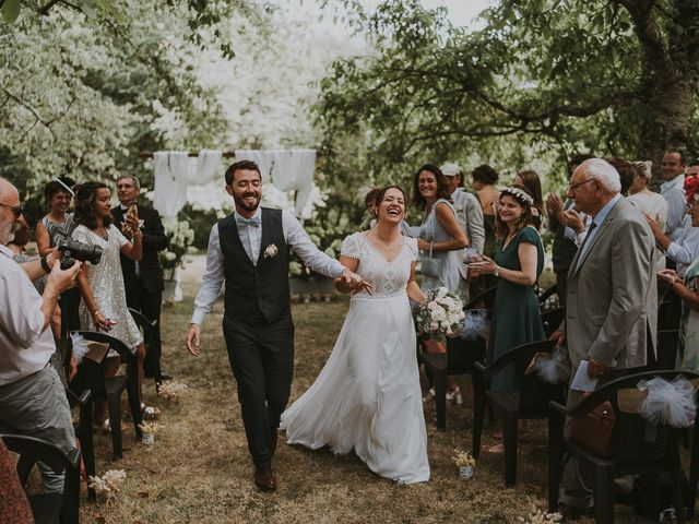 Le mariage de Baptiste et Lauranne à Ennordres, Cher 27