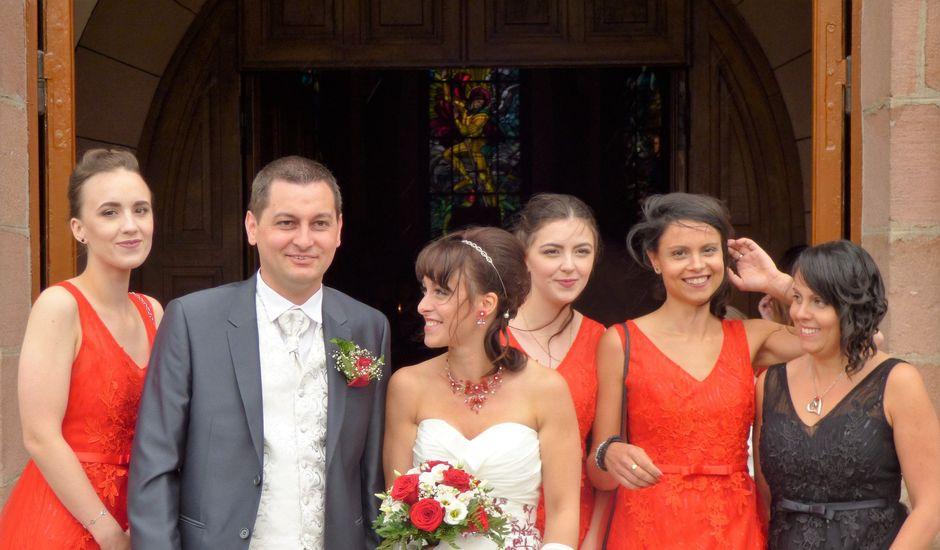 Le mariage de Sébastien et Aimie à Saint-Michel-sur-Meurthe, Vosges