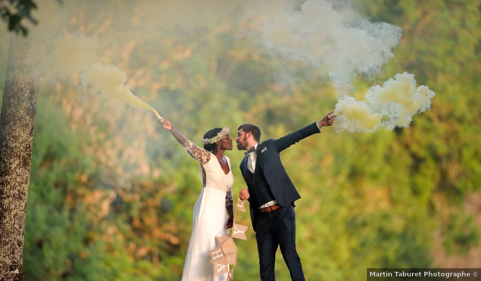 Le mariage de Morgan et Kadia à Béduer, Lot