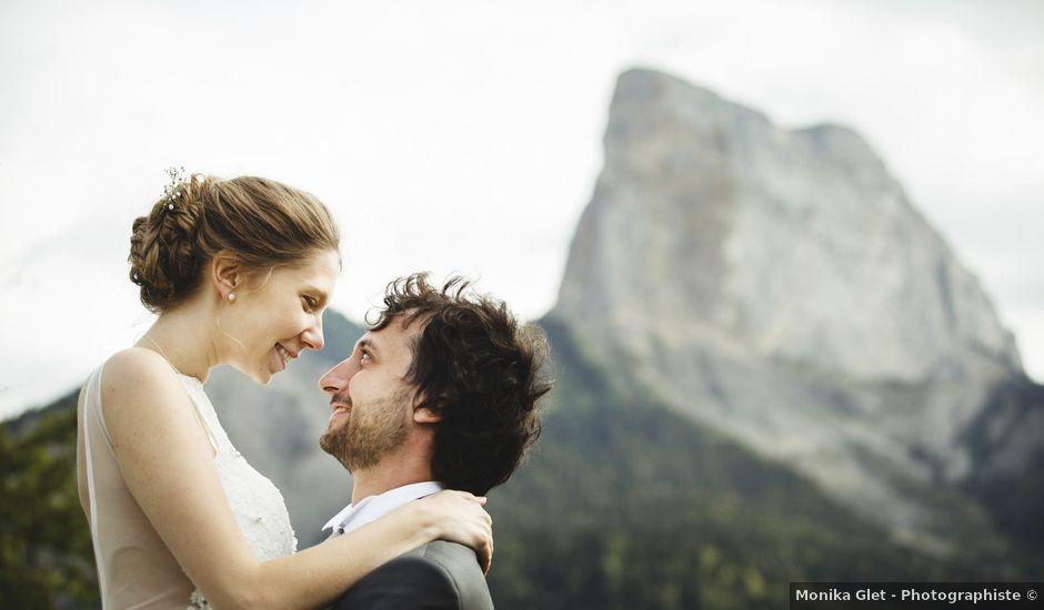 Le mariage de Quentin et Lea à Roissard, Isère