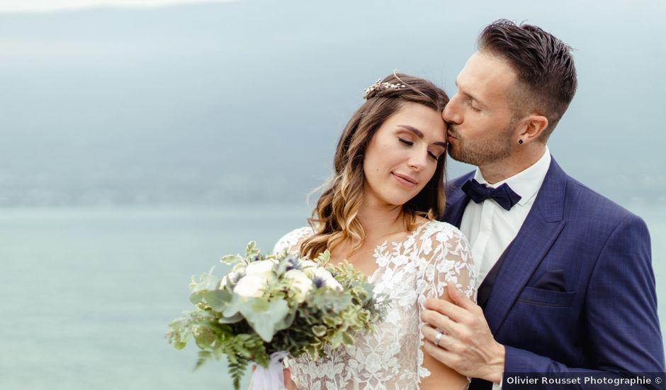 Le mariage de Jean-Christophe et Carine à Chambéry, Savoie