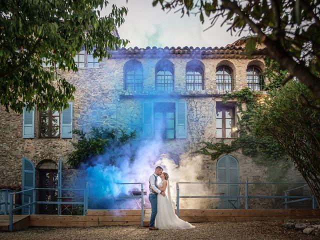 Le mariage de Guillaume et Eline à Garéoult, Var 13