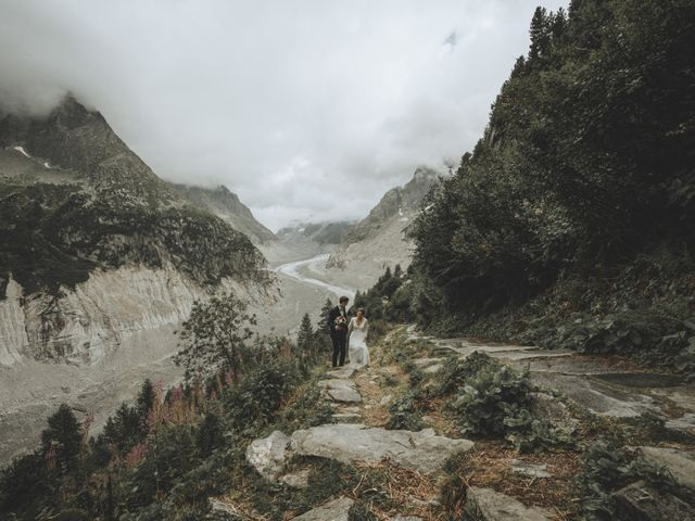 Le mariage de Gabriel et Camille à Chamonix-Mont-Blanc, Haute-Savoie 9