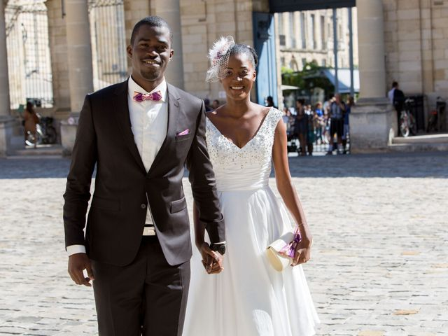 Le mariage de Roxane et Henoc à Arsac, Gironde 3