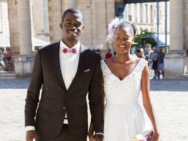 Le mariage de Roxane et Henoc à Arsac, Gironde 4