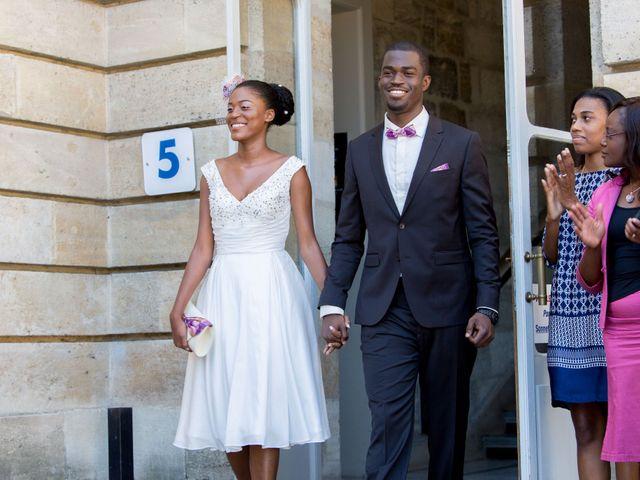 Le mariage de Roxane et Henoc à Arsac, Gironde 9