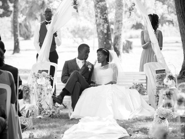 Le mariage de Roxane et Henoc à Arsac, Gironde 24