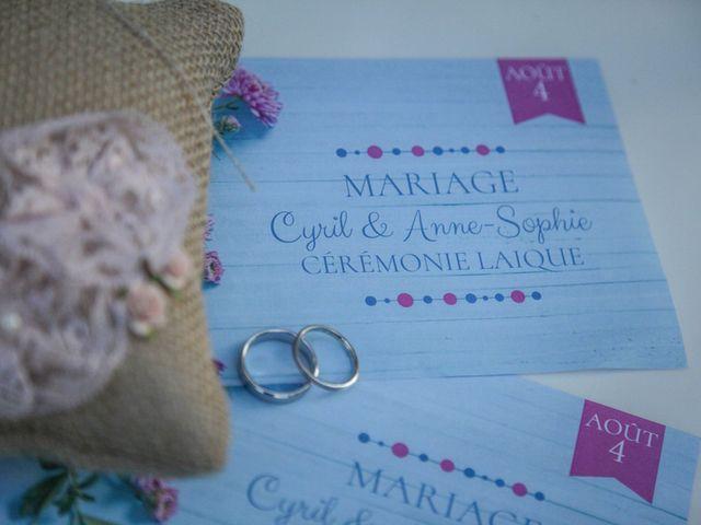 Le mariage de Cyril et Anne-Sophie à Saint-Gervais, Gironde 35