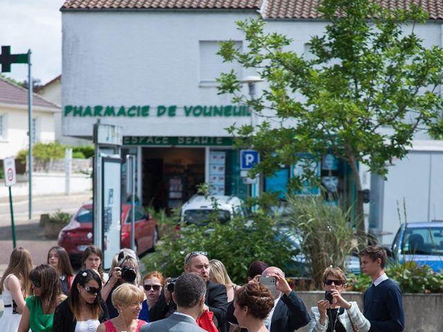 Le mariage de Christophe et Cécile à Vouneuil-sous-Biard, Vienne 8