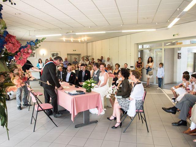 Le mariage de Christophe et Cécile à Vouneuil-sous-Biard, Vienne 19