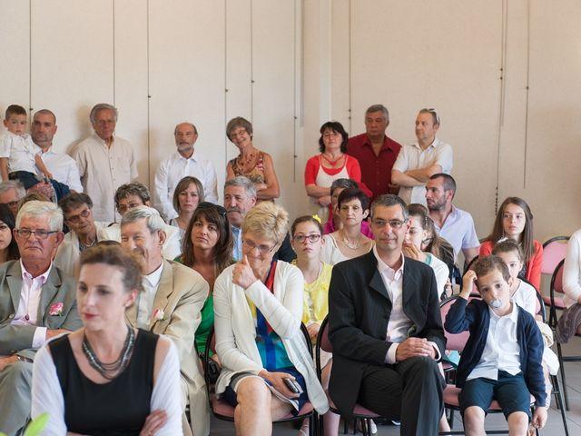 Le mariage de Christophe et Cécile à Vouneuil-sous-Biard, Vienne 24