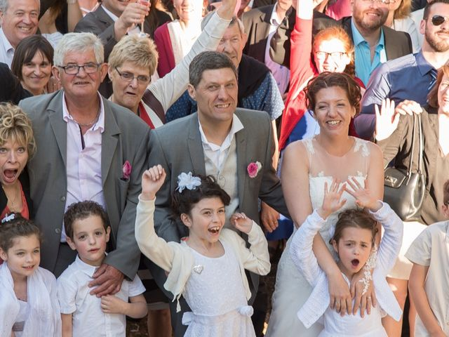 Le mariage de Christophe et Cécile à Vouneuil-sous-Biard, Vienne 88