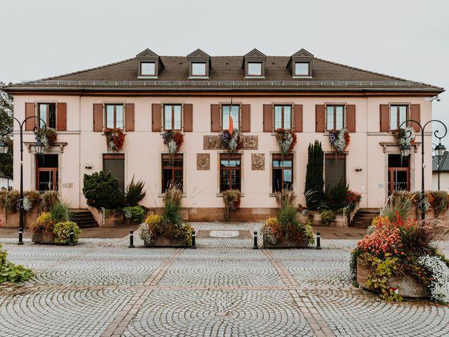 Le mariage de Julien et Marine à Sausheim, Haut Rhin 26