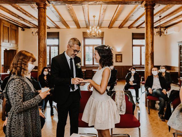 Le mariage de Julien et Marine à Sausheim, Haut Rhin 36