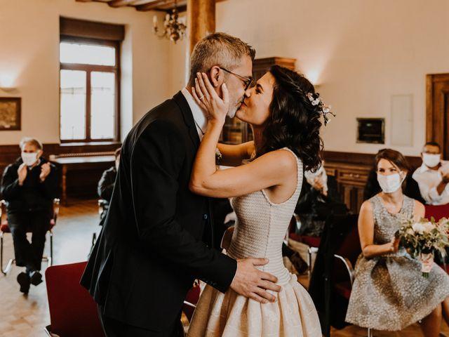 Le mariage de Julien et Marine à Sausheim, Haut Rhin 38