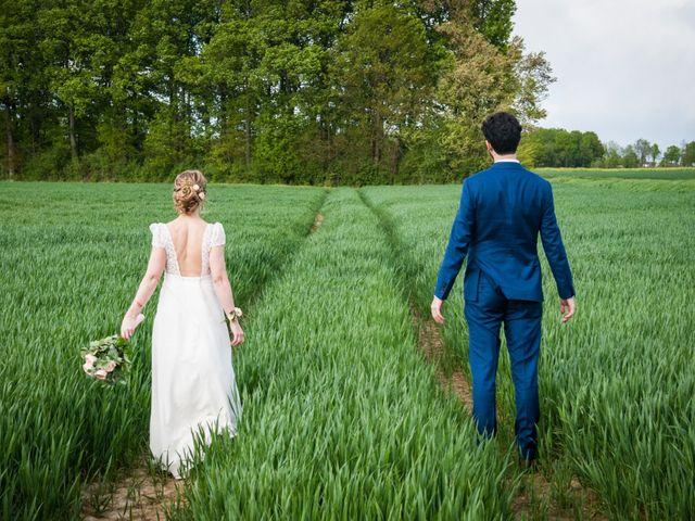 Le mariage de Thomas et Virginie à Bleury, Eure-et-Loir 11