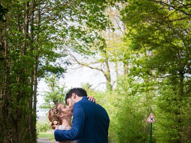 Le mariage de Thomas et Virginie à Bleury, Eure-et-Loir 1