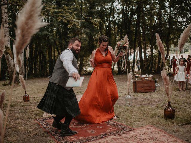 Le mariage de Romain et Amandine à Choué, Loir-et-Cher 42