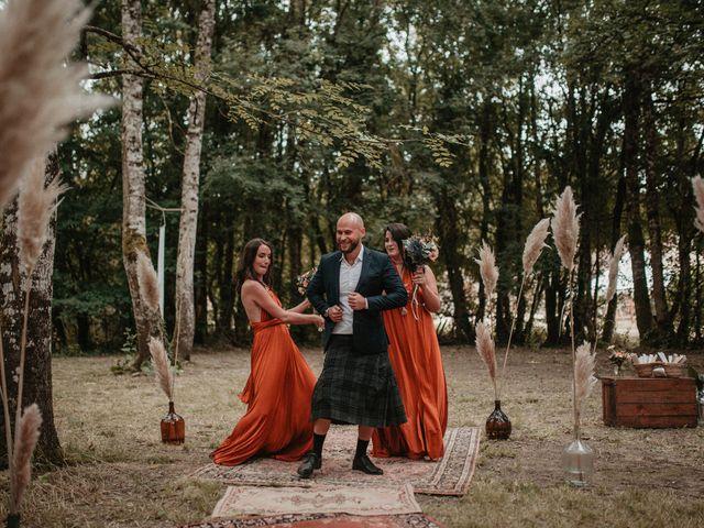 Le mariage de Romain et Amandine à Choué, Loir-et-Cher 43