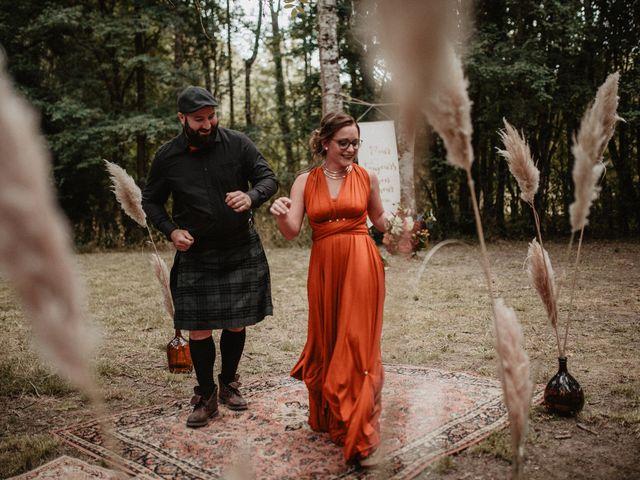 Le mariage de Romain et Amandine à Choué, Loir-et-Cher 44