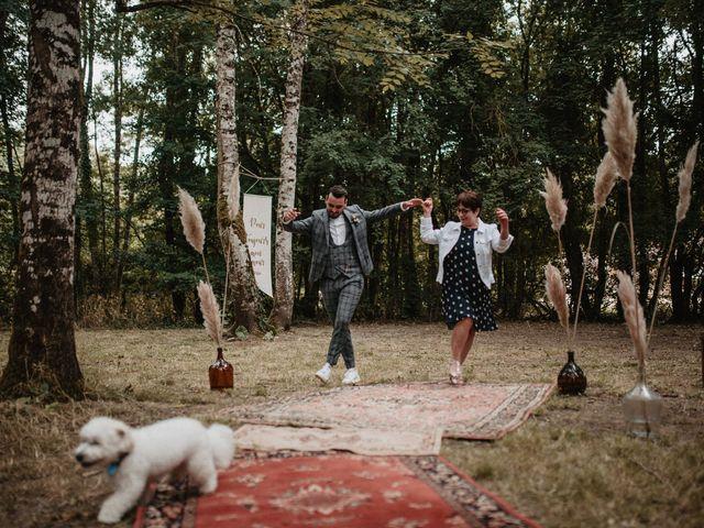 Le mariage de Romain et Amandine à Choué, Loir-et-Cher 45
