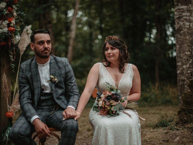 Le mariage de Romain et Amandine à Choué, Loir-et-Cher 56