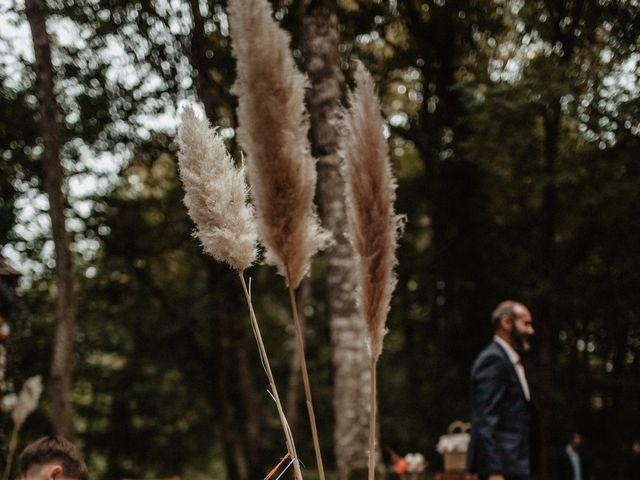 Le mariage de Romain et Amandine à Choué, Loir-et-Cher 77